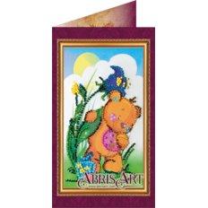 Набор для вышивки бисером открытка 8 Марта-6