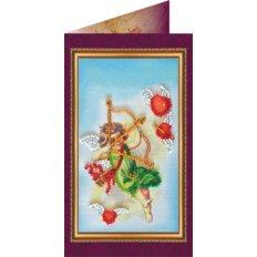 Набор для вышивки бисером открытка С Днём Влюблённых - 1