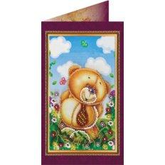 Набор для вышивки бисером открытка Любимому папе 1
