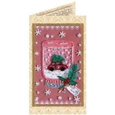 фото: открытка для вышивки бисером Весёлый сувенир