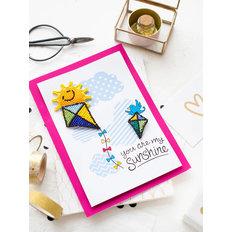 фото: открытка 3D для вышивки бисером Радуйся жизни!