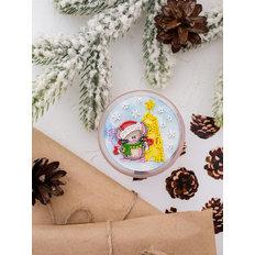 фото: магнит для вышивки бисером с акриловой рамкой Вкусный праздник
