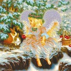 Схема для вышивки бисером Рождественский гостинец