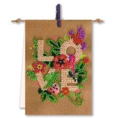 Набор-флажок для вышивки бисером Для тебя