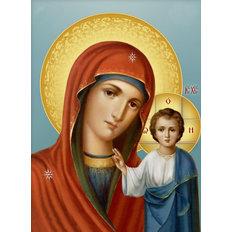Набор в технике алмазная вышивка Икона Божией Матери