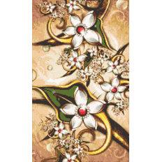 фото: картина в алмазной технике Винтажные цветы