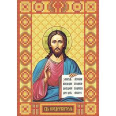изображение: икона в алмазной технике Икона Господь Вседержитель