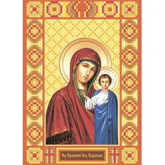 изображение: икона в алмазной технике Икона Богородица Казанская