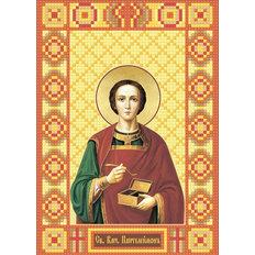 изображение: икона в алмазной технике Икона Святой Великомученик Пантелеймон
