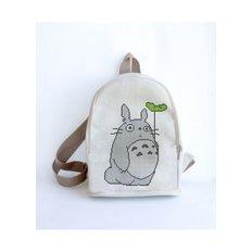фото: сшитый рюкзак для вышивки бисером или нитками Тоторо