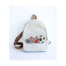 фото: сшитый рюкзак для вышивки бисером или нитками Футбол