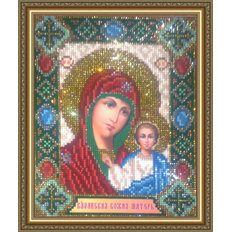 Набор в технике алмазная вышивка Икона Казанская Пресвятая Богородица