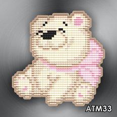 фото: магнит в алмазной технике Медвежонок