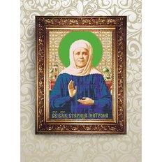 Набор для бисероплетения икона Святая Блаженная Старица Матрона