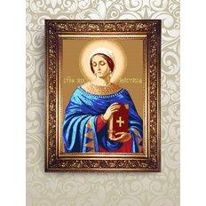 Набор для бисероплетения икона Святая Мученица Анастасия