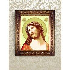 Набор для бисероплетения икона Иисус Христос в терновом венце