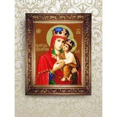 Набор для бисероплетения икона Образ Пресвятой Богородицы Киево-Братская