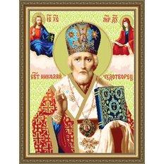 Набор для бисероплетения Икона Николай Чудотворец