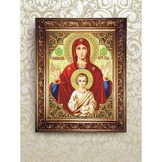 Набор для бисероплетения Пресвятая Богородица Знамение