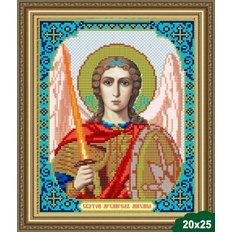 Схема для вышивки бисером Икона Архангел Михаил