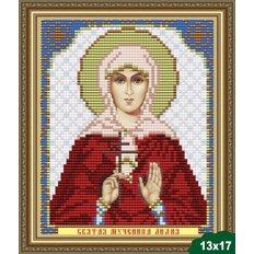 Схема для вышивки бисером Икона Святая Мученица Лидия