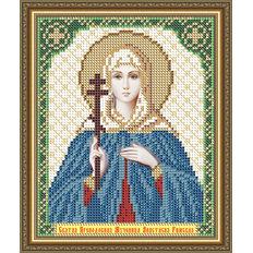 Схема для вышивки бисером Икона Святая Преподобная Мученица Анастасия Римская
