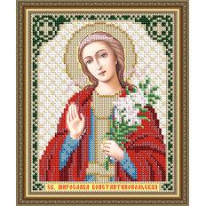 Схема для вышивки бисером Икона Святая Мирослава Константинопольская