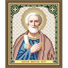 Схема для вышивки бисером Икона Святой Апостол Петр
