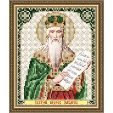 Схема для вышивки бисером Икона Святой Пророк Захария