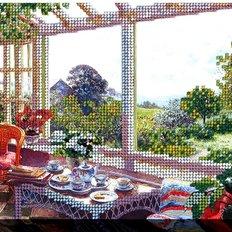 фото: картина для вышивки бисером Воскресное утро 2