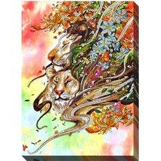 фото: картина для вышивки бисером В джунглях