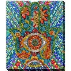 фото: картина для вышивки бисером Хамса