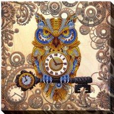 фото: картина для вышивки бисером Хранитель времени