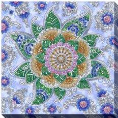 фото: картина для вышивки бисером Цветок мехенди