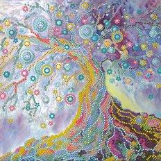 фото: картина для вышивки бисером Древо жизни