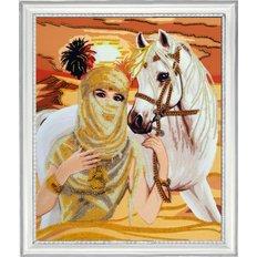 фото: картина для вышивки бисером Принцесса пустыни