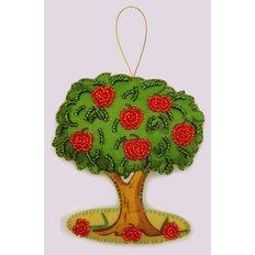 фото: вышитая бисером игрушка, Молодильное дерево