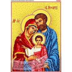 изображение: икона Святое Семейство, развязывающая узлы для вышивки бисером или нитками