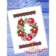 фото: рушник на Спас для вышивания бисером или крестиком