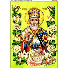 изображение: икона Святой Николай для вышивки бисером или нитками