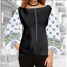 фото: блуза Бохо (заготовка) с вышивкой ромашки