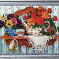 фото: картина для вышивки бисером, натюрморт