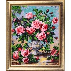 фото: картина для вышивки бисером, Аромат роз