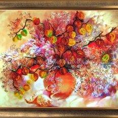 Набор для вышивки бисером Осенние фонарики