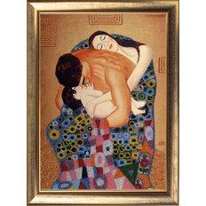 фото: картина для вышивки бисером Семья (по мотивам Г. Климта)