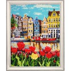 фото: картина для вышивки бисером, Амстердам