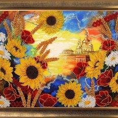 фото: картина для вышивки бисером Рассвет