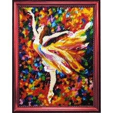 Набор для вышивки бисером Балерина