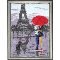 Набор для вышивки бисером Париж для двоих (по картине О. Дарчук)