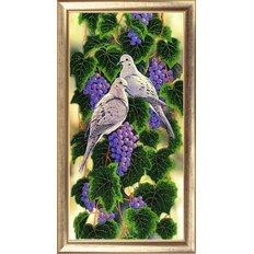 фото: картина для вышивки бисером Виноградная лоза